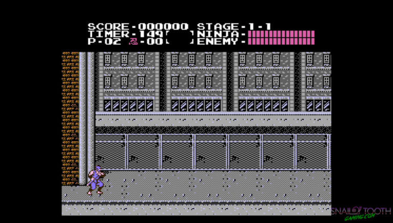 Ninja Gaiden on NES Classic Screenshot
