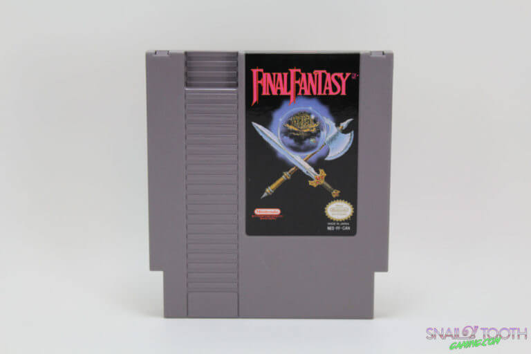Final Fantasy NES Cartridge