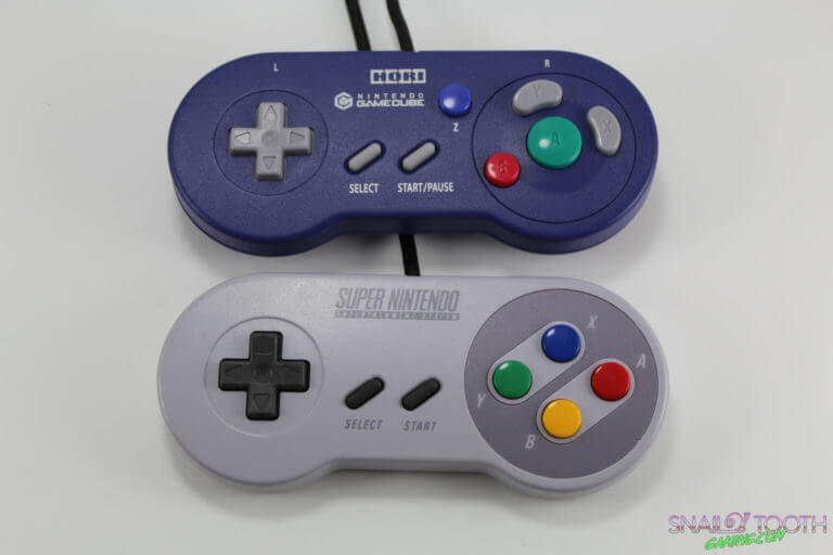 Hori Digital Controller Compared to SNES Controller