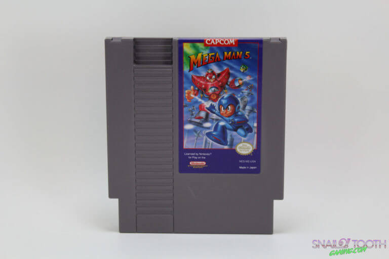Mega Man V NES Cartridge