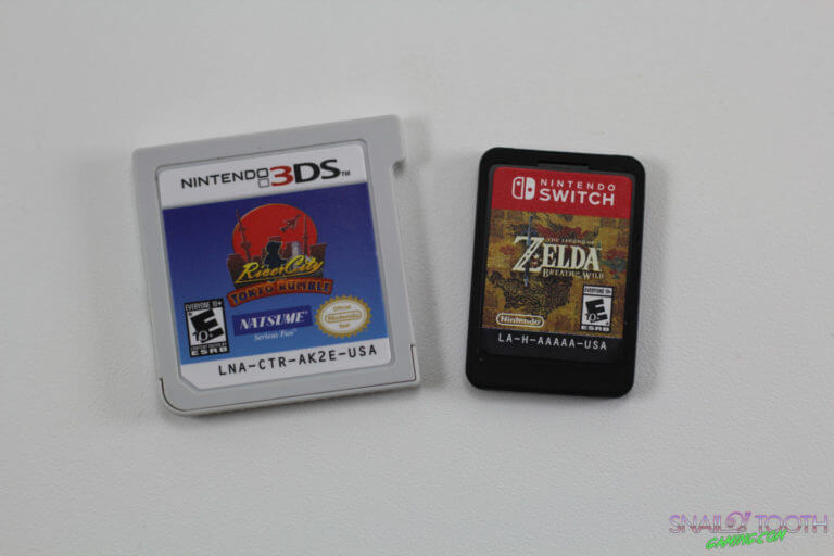 Nintendo Switch Cartridge Size Comparison