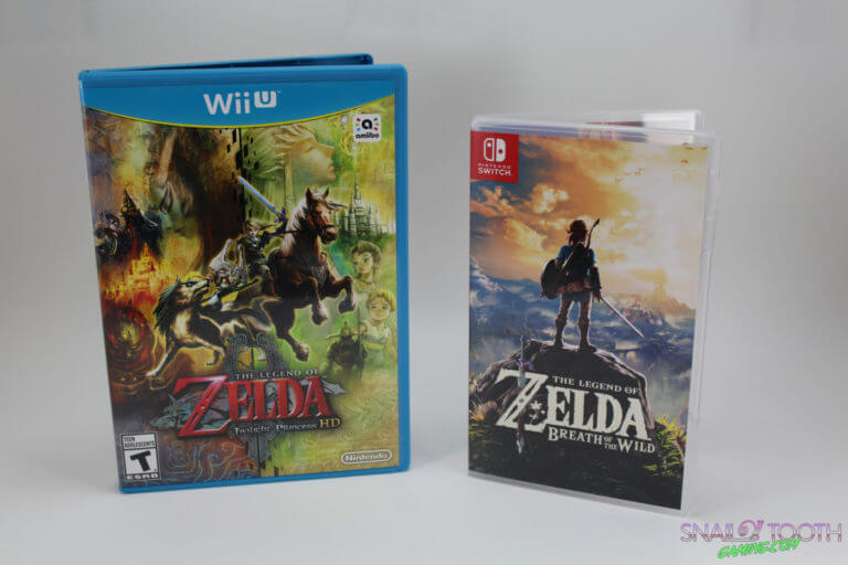 Nintendo Switch Game Box Size Comparison