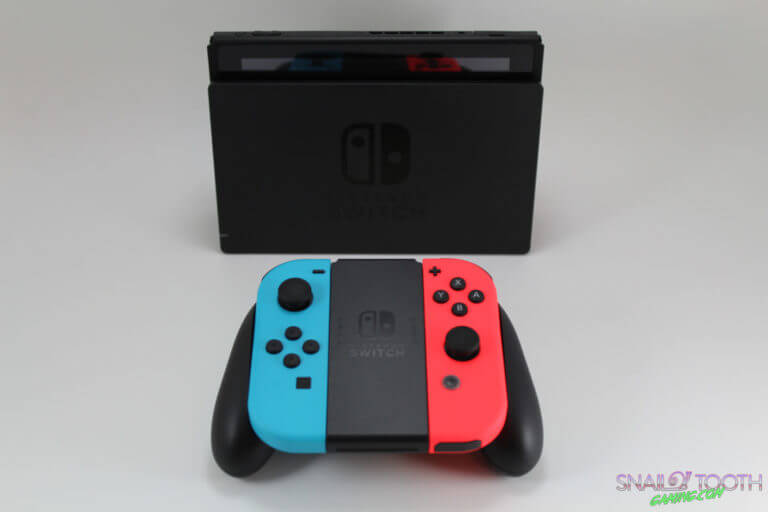 Nintendo Switch with Joy-Con Grip