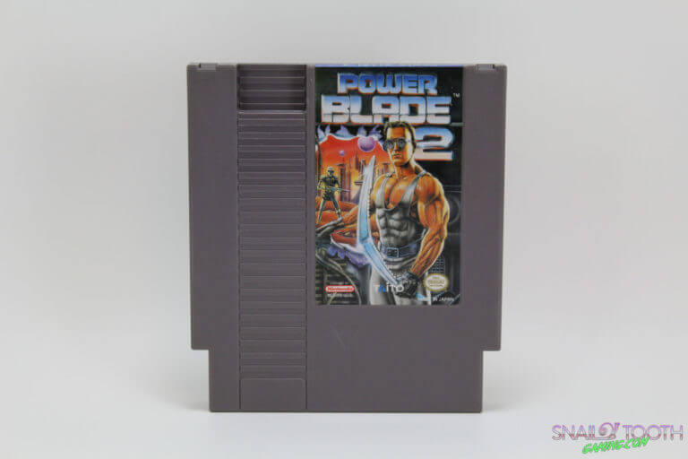 Power Blade 2 NES Cartridge