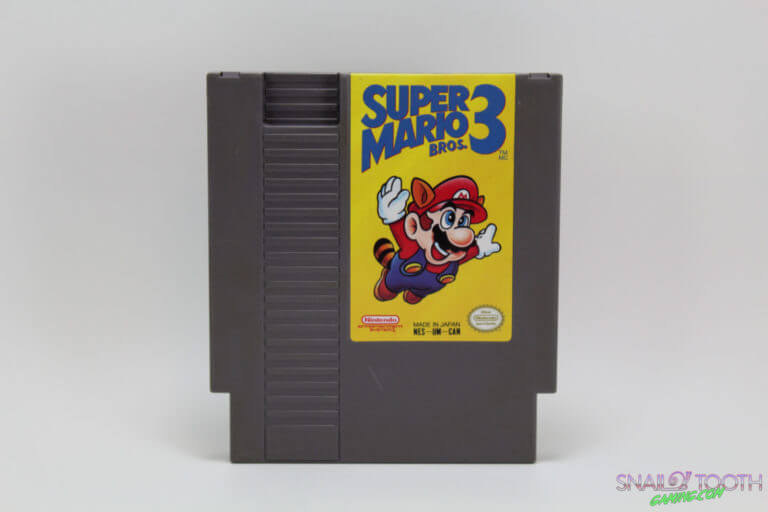 Super Mario Bros 3 NES Cartridge
