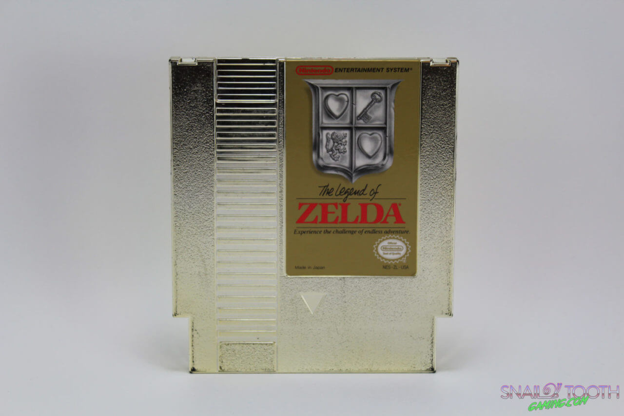 The Legend of Zelda NES Cartridge
