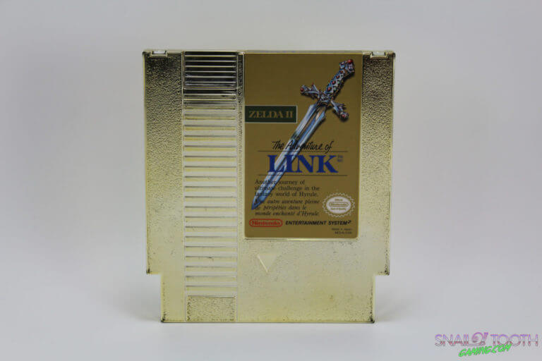 Zelda II The Adventure of Link NES Cartridge
