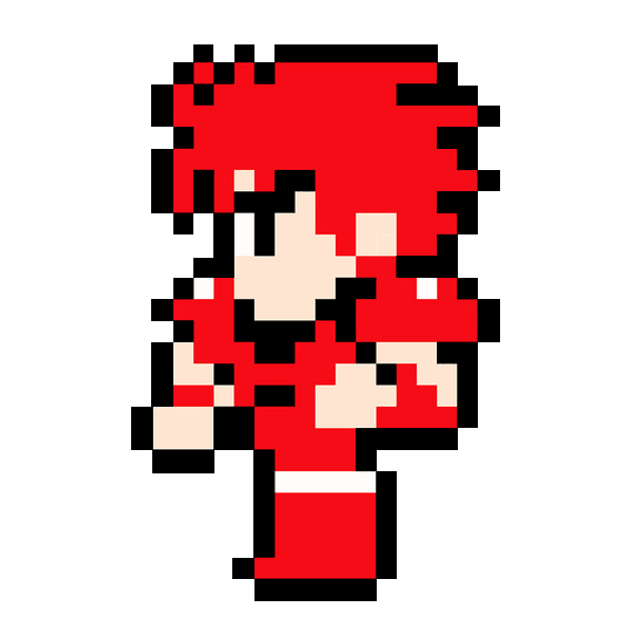 Fighter Sprite Avatar Transparent